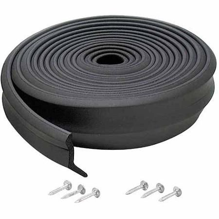 M-D Products 03749 16' Rubber Garage Door Bottom Seal - Walmart.com