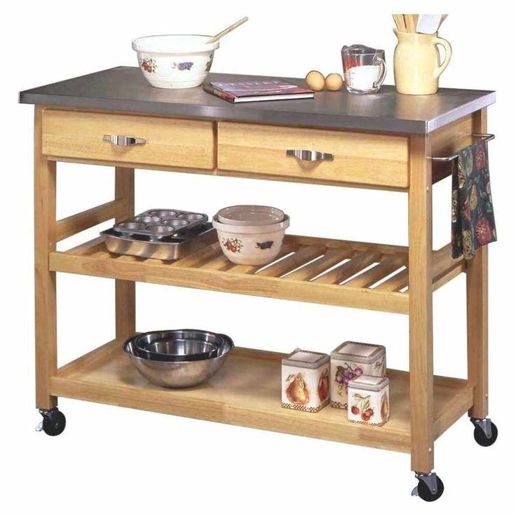 Outdoor Kitchen Storage Cart