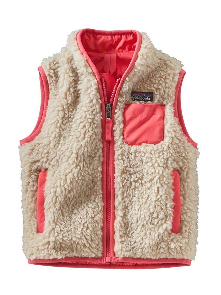 12 month Patagonia Baby Retro-X Vest