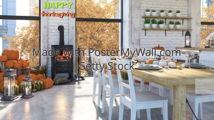 Zzom Backgrounds Thanksgiving Fall Autumn In 2020 Background Design Autumn