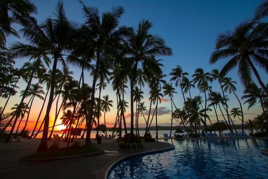 Shangri-La resort in Fiji
