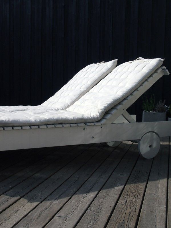 Sun lounger for our roof terrace