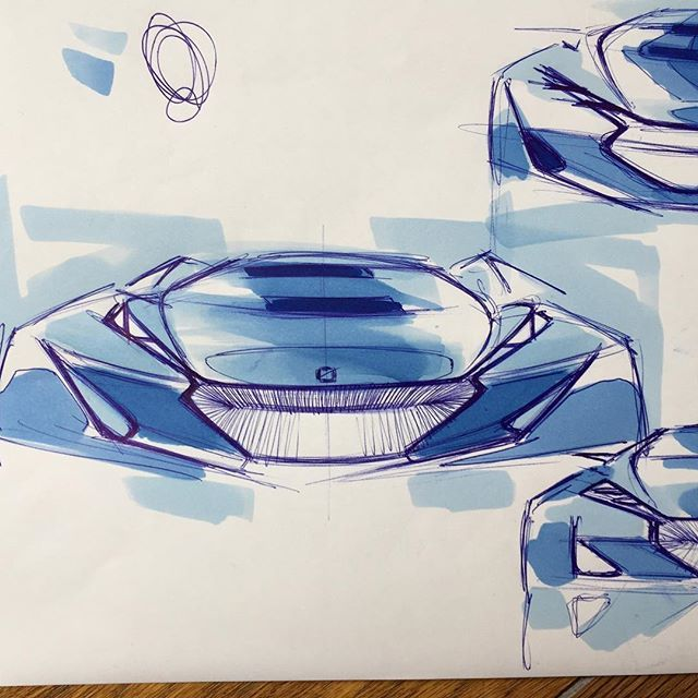 Front variatione #front #car #piano #automotive #cardesign #transport #car #transportdesign #design #sketch #sketching #doodle