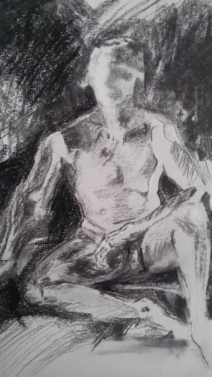 Jeanne Armstrong, life drawing at Art Est, Pina Bartolo instructor