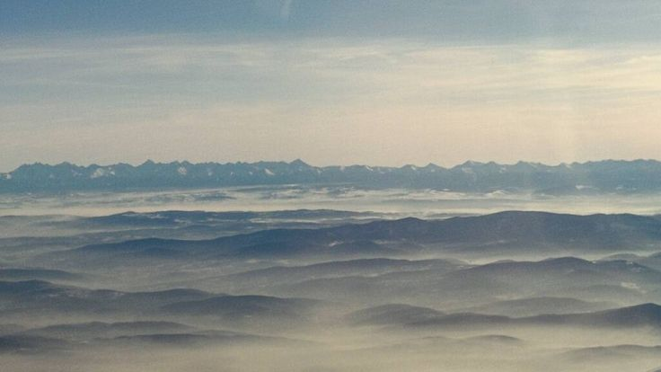 flying home for Christmas (with one day delay)   #landscape #clouds #abovetheclouds #natureknowsbest #mountains #góry #up #tatry #longwayhome