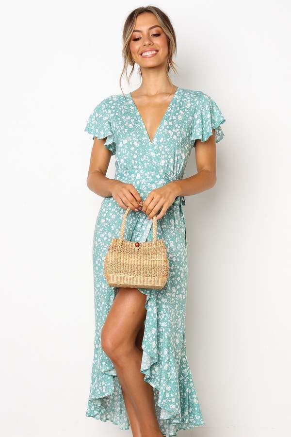 57dc21dffe7b Piccolo Dress - Sage in 2019 | My Style | Dresses, Short sleeve ...