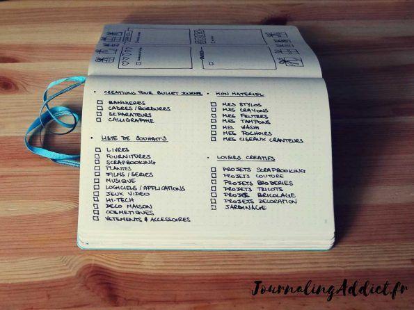 Il y a quelques mois, je publiais une liste de 50 idées de pages pour le bujo.  Depuis, j'ai étoffé cette liste et aujourd'hui je vous en propose une nouvelle de plus de 100 idées de listes et de collections pour le bullet journal.