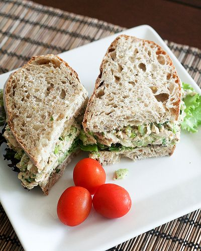 Simple Tunafish Sandwich-16 by Sonia! The Healthy Foodie, via Flickr