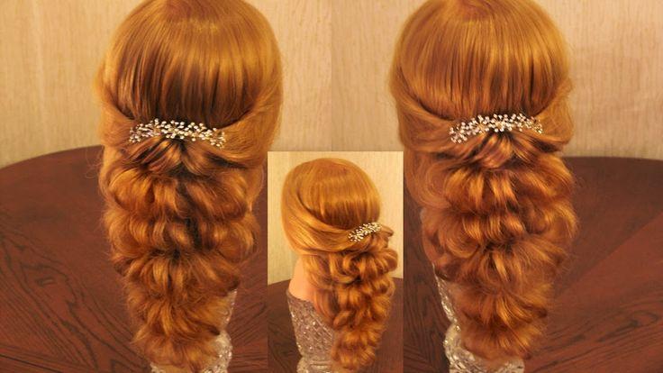 Причёска с помощью резинок - Красота! - 3 (больше воздушности!)