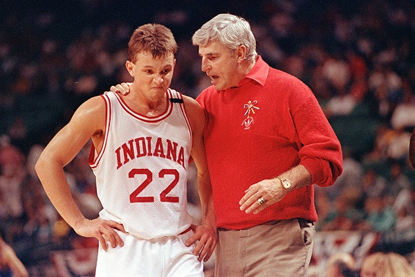 Damon Bailey & Bob Knight  Damon was my FIRST LOVE. ;)