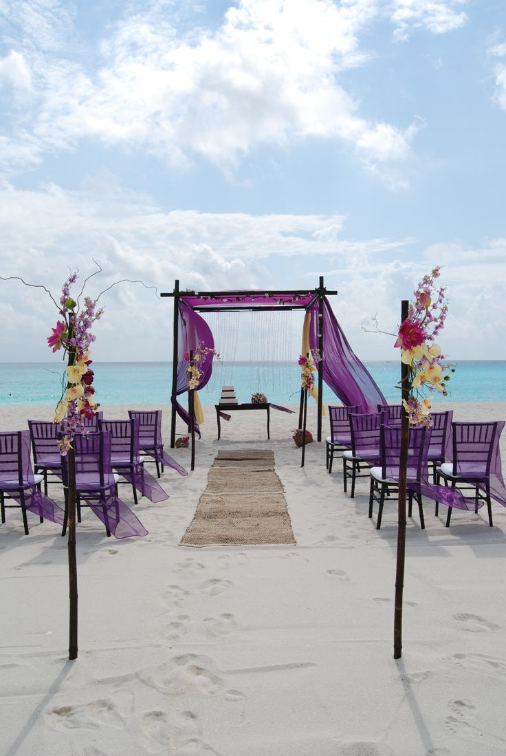 387 best wedding ceremony images on pinterest weddings beach its pictures like this that make you want to get married on a tropical island purple beach weddingsbeach themed junglespirit Image collections