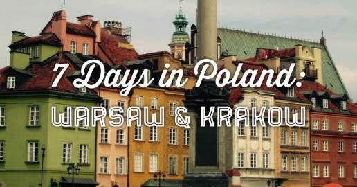 7 day itinerary Poland