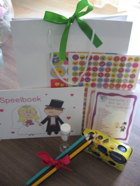 Bruiloft Kidsbox - Leuk entertainment voor de kinderen tijdens jullie bruiloft!