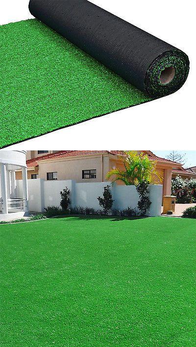 Ball Markers 18928 5x10ft Green Artificial Gr Carpet Area Rug Indoor Outdoor Garden Playroom