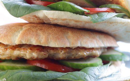 Рецепт – Домашний гамбургер с куриной котлеткой