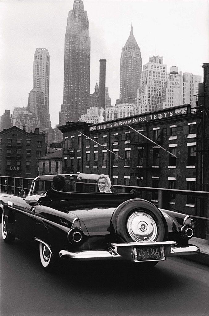 Marilyn Monroe New York New York USA Photographer Sam Shaw
