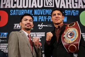 """""""Yo boxeo porque la mitad de mi salario va a los pobres. -Manny Pacquiao"""""""