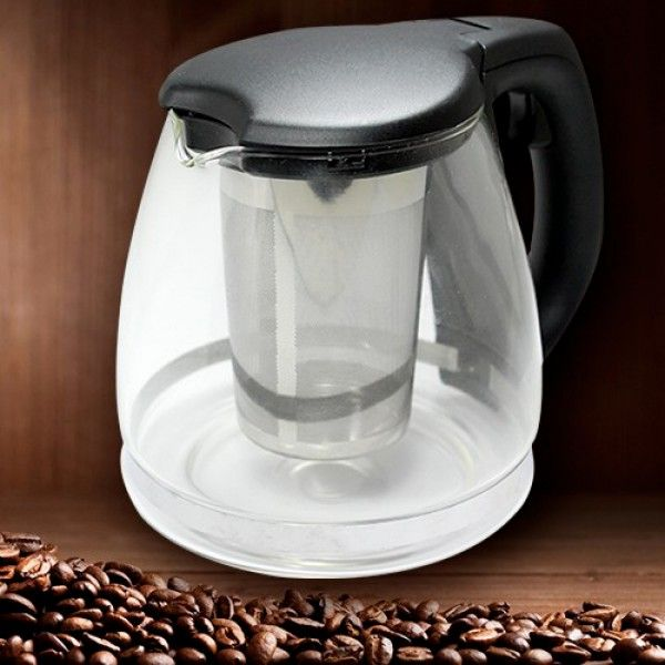 Süzgeçli Cam Demlik Tea Pot - http://bit.ly/1SS2s5X