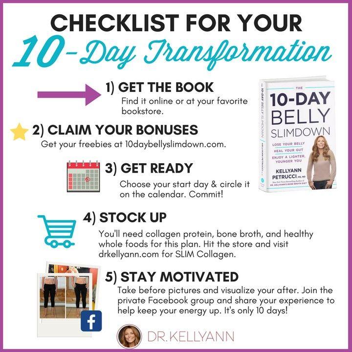 10 day belly slim down diet