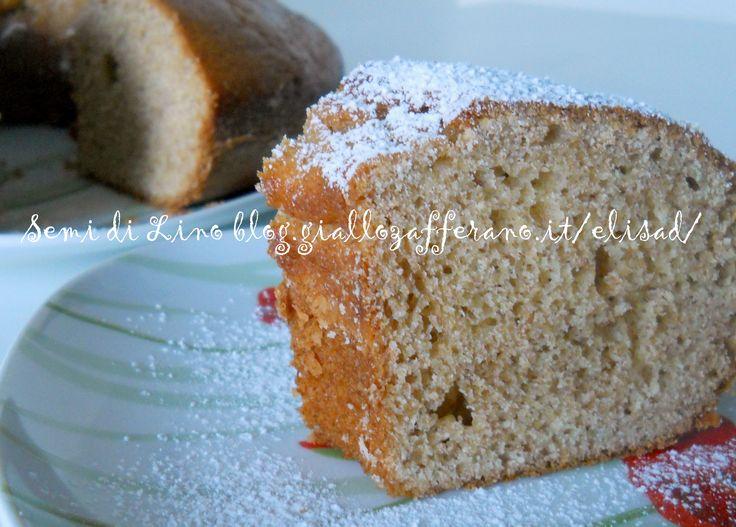 Torta integrale - Ricetta Ciambella light con farina integrale