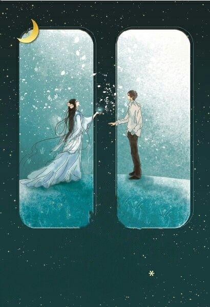 Khoảng cách  có thể ngăn trở hai ta gặp nhau nhưng lại không ngăn nổi tình yêu ta trao nhau