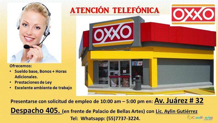 Asesoria Telefonica, medio tiempo, OXXO - iclasificados.com.mx