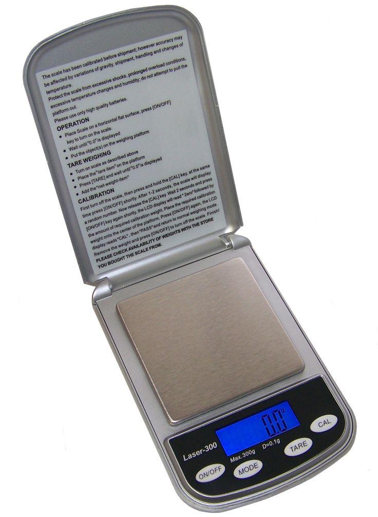 Professional Digital Pocket Scale (300 x .1 g)