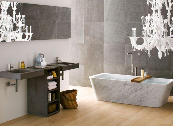 Neutra's Sleek & Stylish Bathrooms Inspired by Nature