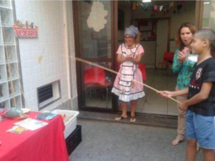 Festa junina anima a garotada na Casa Ronald