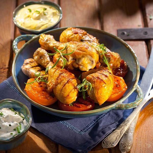 Poulet grillé au paprika -  Découvrez la préparation et les ingrédients des escalopes de poulet au paprika avec Ducros ! Plus de recette sur le site Ducros !