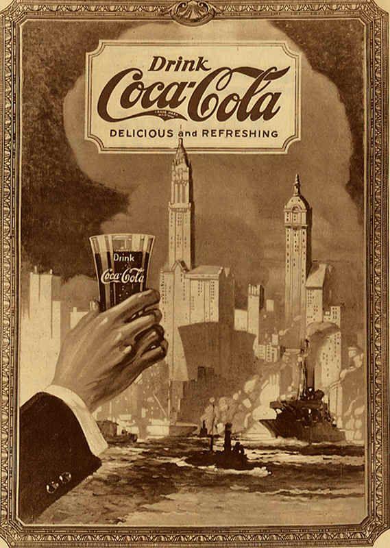 110 carteles antiguos de Coca Cola