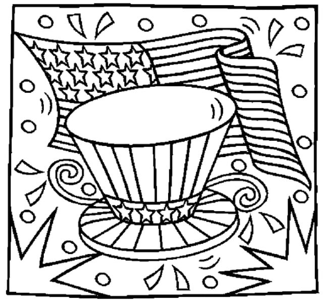 23 Printable July 4th Coloring Activity Pages For The Kids Free Coloring Pages Coloring Pages Flag Coloring Pages