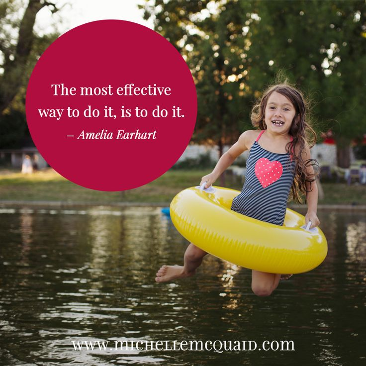 The most effective way to do it, is to do it. - Amelia Earhart #zest #quote #strengths