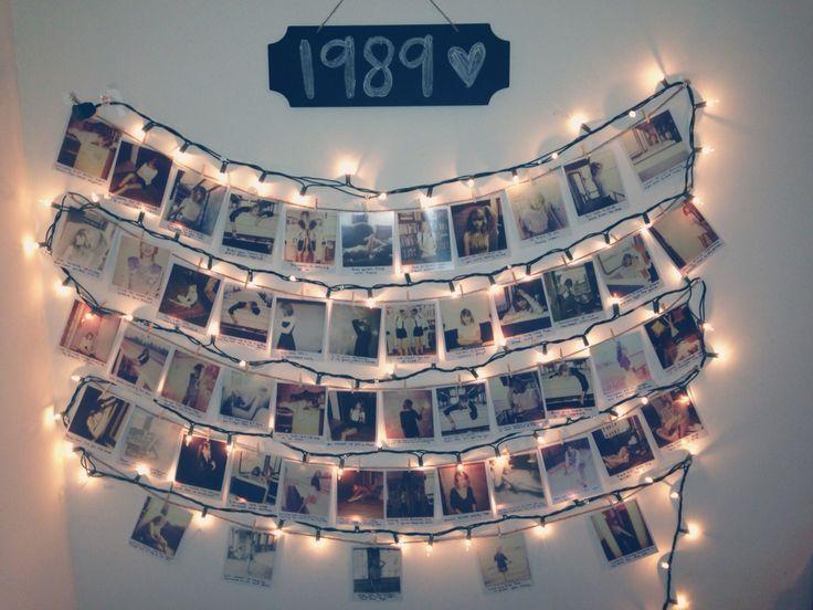 Taylor Swift 1989 Polaroids.