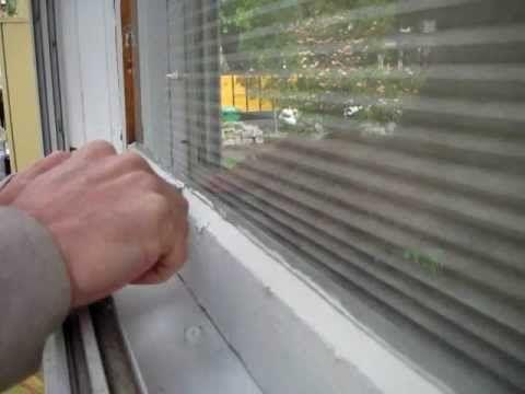 Broken Window Pane Replacement:  Step #4, Glazing