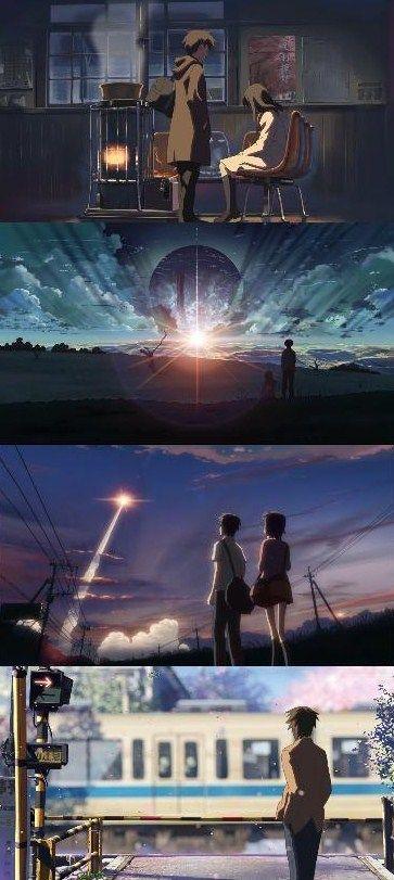 5 Centimeters Per Second   Makoto Shinkai   Anime   SailorMeowMeow