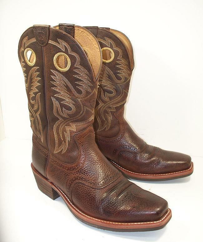 17c64e9e789 Men's Heritage Roughstock Square Toe 10002227 Cowboy Boots 13 D ...