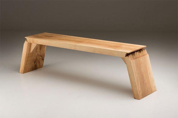 Broken: Zerfasertes Holz Design | Tische | Pinterest | Design, Möbel