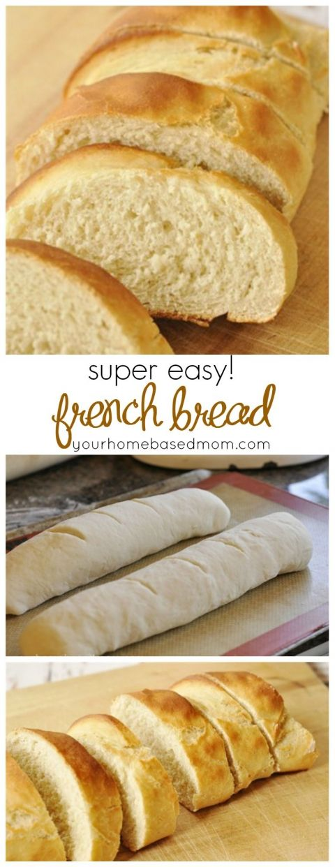 Easy French Bread This was extremely good! We all really enjoyed it!