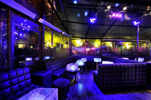 Night Club Furniture Arc Restaurant Bar Nightclub In Paris