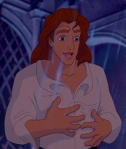 Tarzan post-transformation  Esmeralda post-transformation