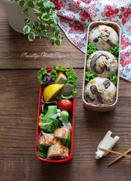 遠足♪彩り野菜のささ身巻き弁当。 あ~るママオフィシャルブログ「毎日がお弁当日和♪」Powered by Ameba ・彩り野菜のささ身巻き ・ブロッコリーと白舞茸のサラダ ・紫白菜のゆかり和え ・メロン、日向夏、プチトマト ・きのこのバター醤油おにぎり