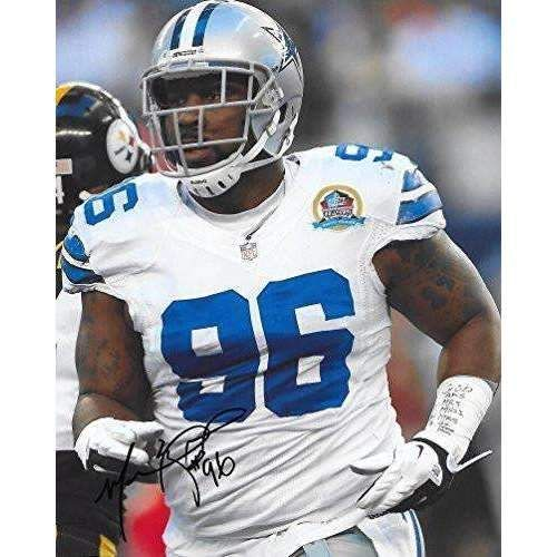Marcus Spears, Dallas Cowboys, Signed, Autographed, 8x10, Photo, A COA With The Proof Photo Will Be Included