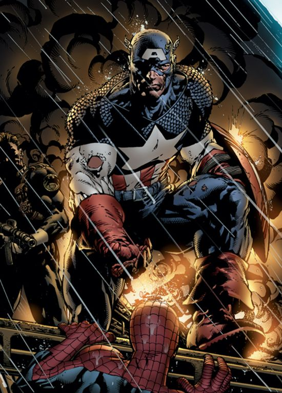 Captain America by David Finch