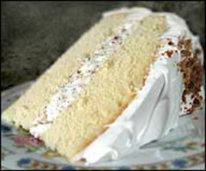 The Lady Baltimore cake is a southern specialty that in the present day has many recipe variations as a favorite wedding cake.