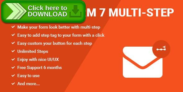 [ThemeForest]Free nulled download Contact Form Seven CF7 Multi-Step Pro from http://zippyfile.download/f.php?id=40881 Tags: ecommerce, build form, contact, contact form, contact form 7, contact form builder, contact form shortcode, create multi step, form, form wizard, kontakt formular, multi step form, multistep, steps, web form, wordpress form