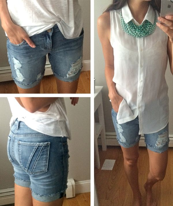 Dear Stitch Fix--I NEED these shorts as soon as they're available! Kut from the Kloth distressed-boyfriend-shorts