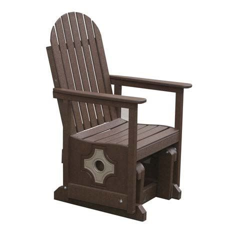 Eagle One C366 Smithton Recycled Plastic Patio Glider Chair