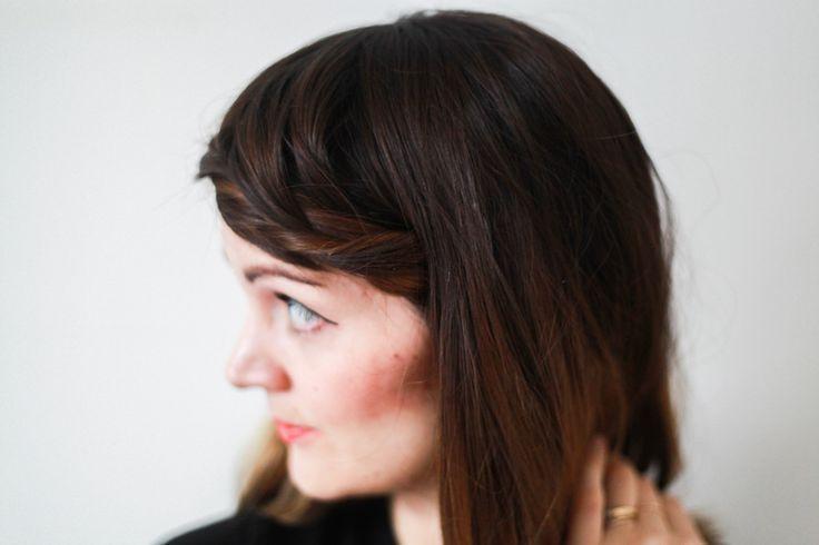 Fringe Braid // Hair Tutorial
