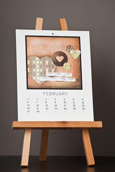 Calendar Wood Stand : Best desk calendar images on pinterest calendars